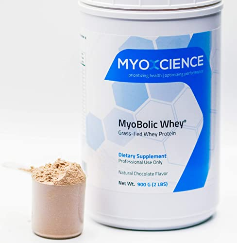 MyoBolic Whey Grass Fed Whey Protein Concentrate Supports Protein Metabolism and Healthy Body Composition