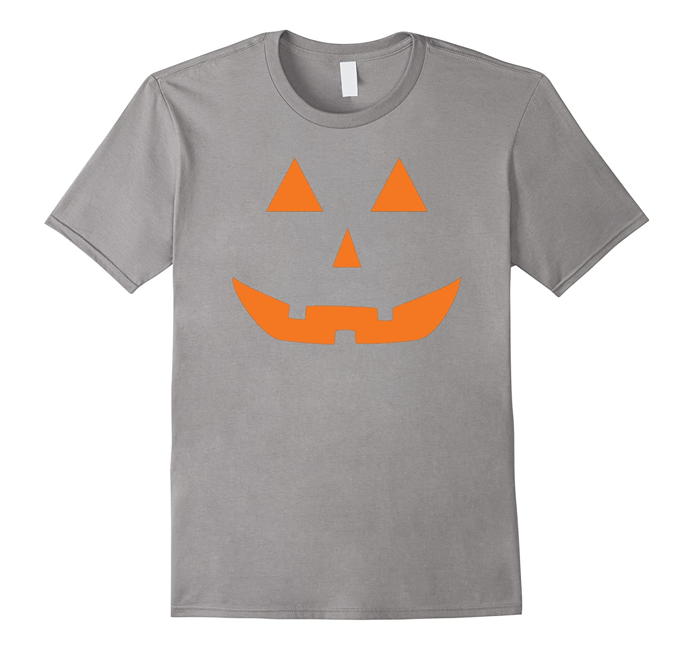 Jack O' Lantern Pumpkin Halloween Costume T-Shirt Funny-T-Shirt