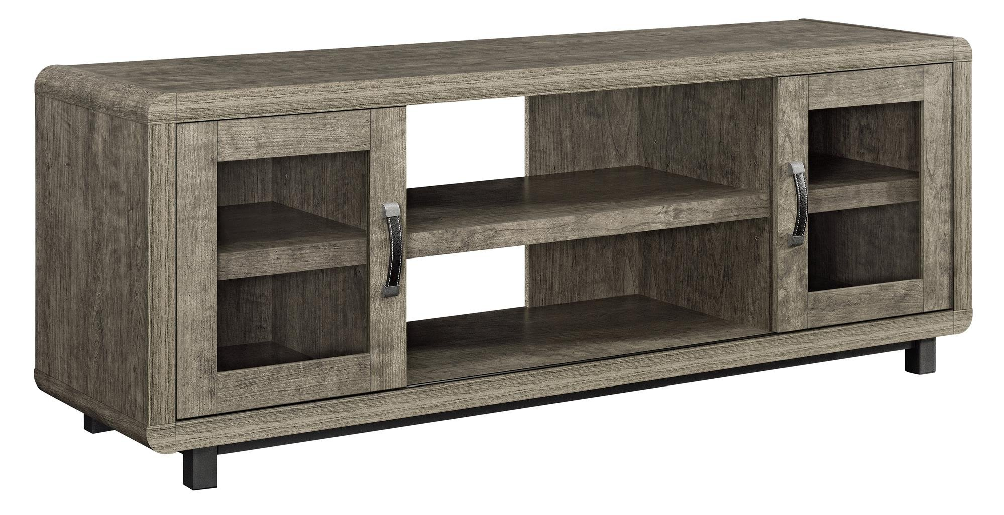 Ameriwood Home Eastlin TV Console for TVs up to 55'', Brown by Ameriwood Home