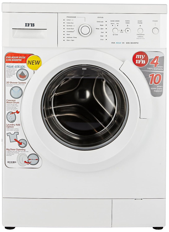 IFB 6 kg Fully-Automatic Front Loading Washing Machine (Eva