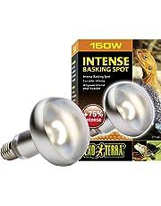 Exoterra Éclairage pour Reptiles Lampe Intense Baskingspot 150 W