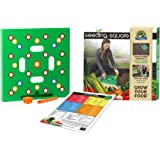 Seeding Square: A Seed-Sowing Template – Grow Perfectly Spaced Vegetables, Reduce Weeds, Conserve Water & Maximize Yield – Sq