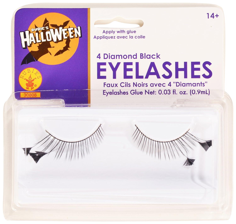 Amazon Rubies Black And 4 Diamonds Eyelashes And Adhesive Toys