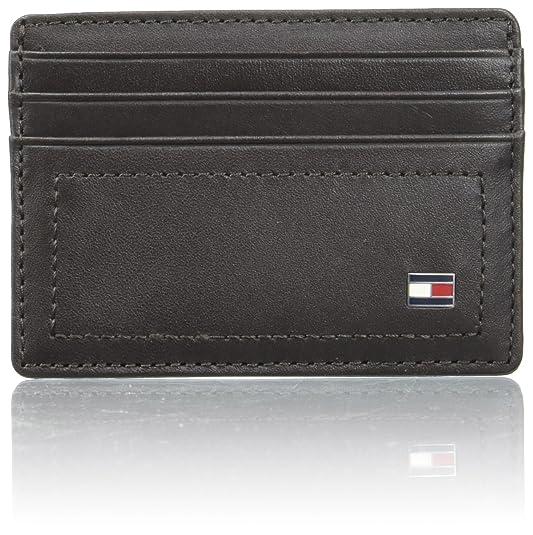 Tommy Hilfiger Emboss Cc Holder, Porte-cartes d'identité (Card Cases) homme, Schwarz (Black), 0.5x7.2x10 cm (B x H T)