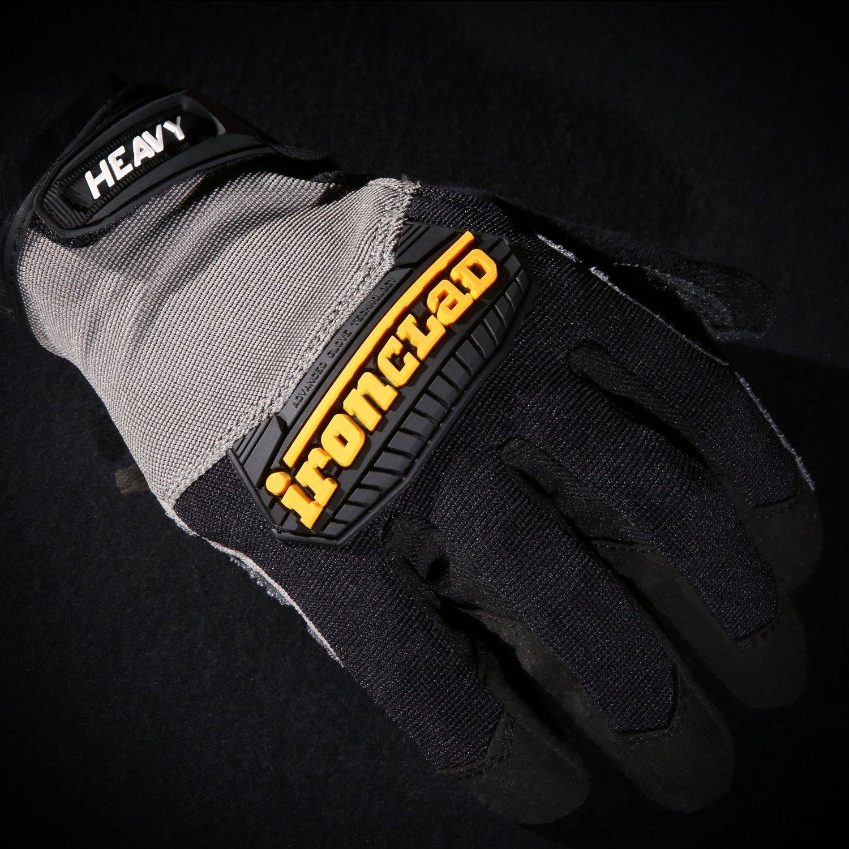 Ironclad Performance Wear Medium Gants utilitaires lourds HUG-03-M