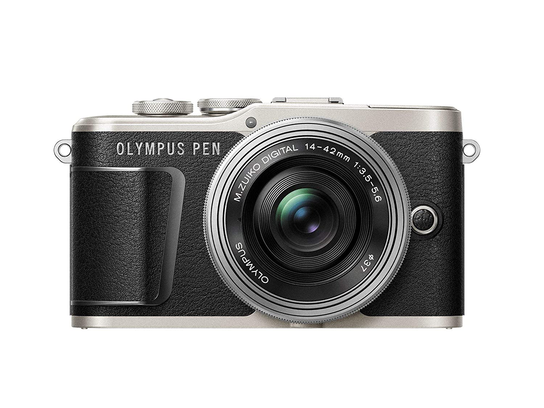 Olympus E PL9 Pancake Zoom Kit bluslv