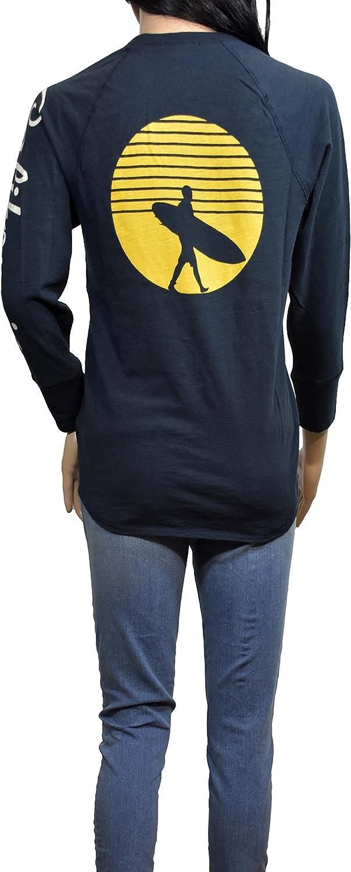 James Perse Teal California Long Sleeve T-Shirt