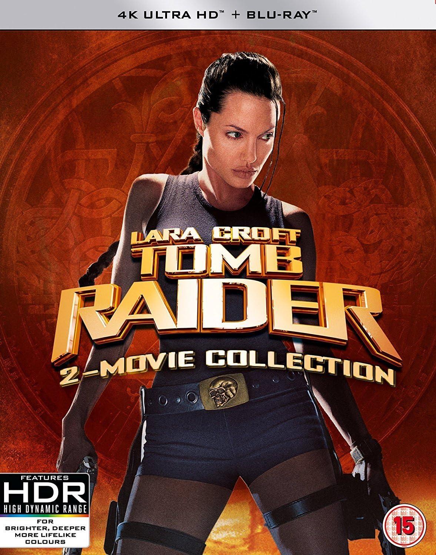 Tomb Raider Lara Croft 4k Ultra Hd Blu Ray 2 Movie Collection