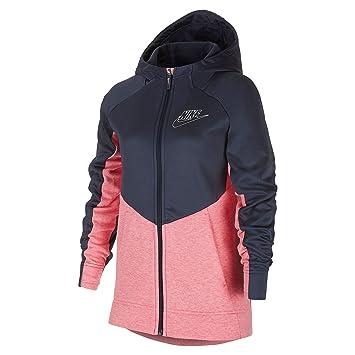 Nike G NSW Hoodie MY Sudadera, Niña, Multicolor(Pink Nebula/HTR/Thunder Blue/White): Amazon.es: Deportes y aire libre