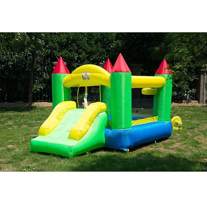 Castillo Hinchable 300x180x160cm Castillos Infantiles Juego Niños de 3 a 10 Años
