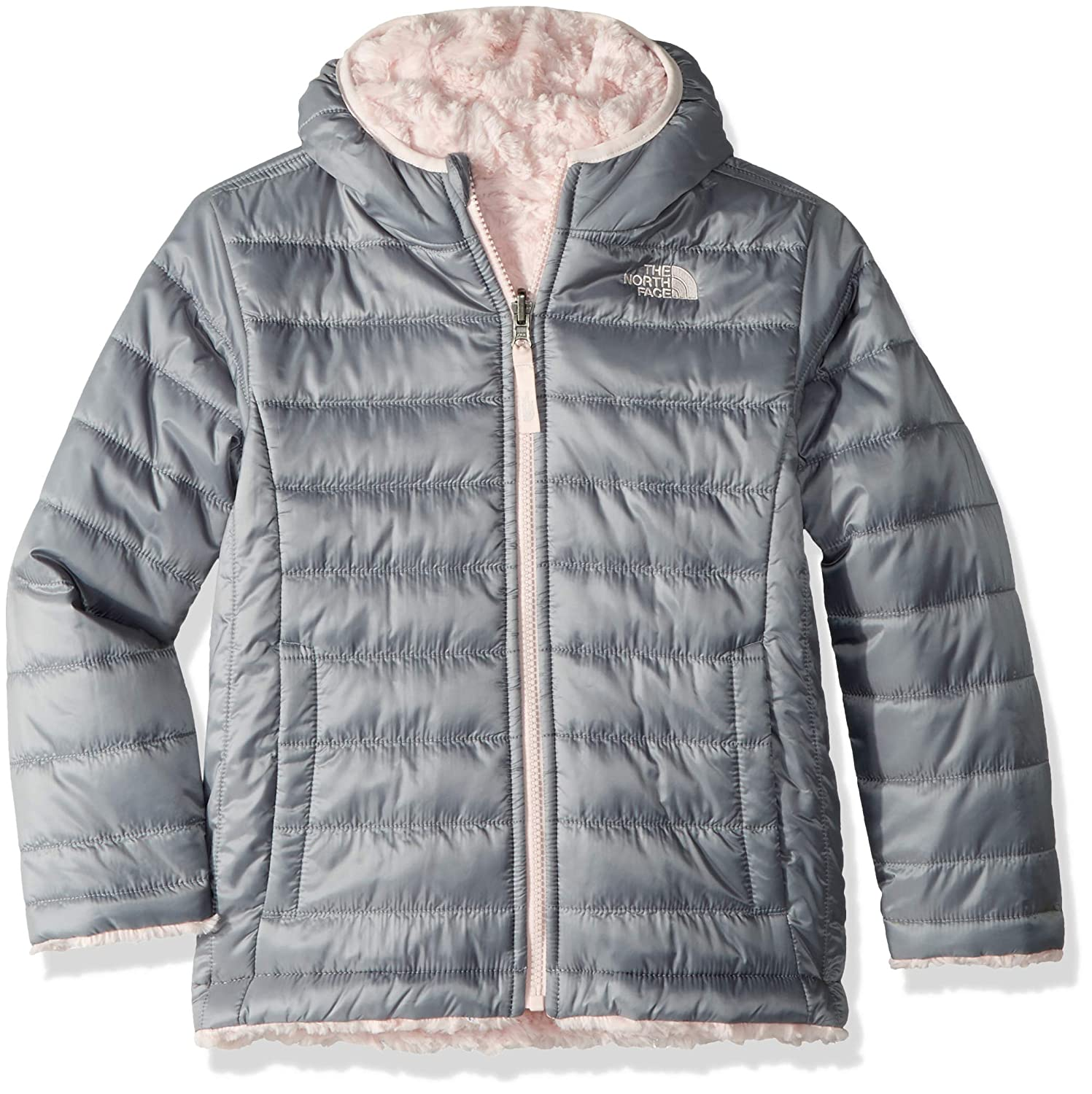 Amazon.com  The North Face Kids Baby Girl s Reversible Mossbud Swirl Jacket  (Toddler)  Clothing be4353b7f