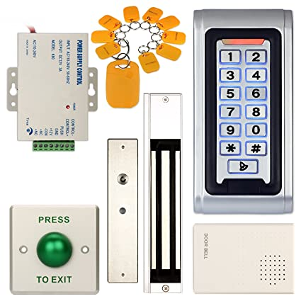 Amazon Soter Security Waterproof Access Control Id Keypad Door
