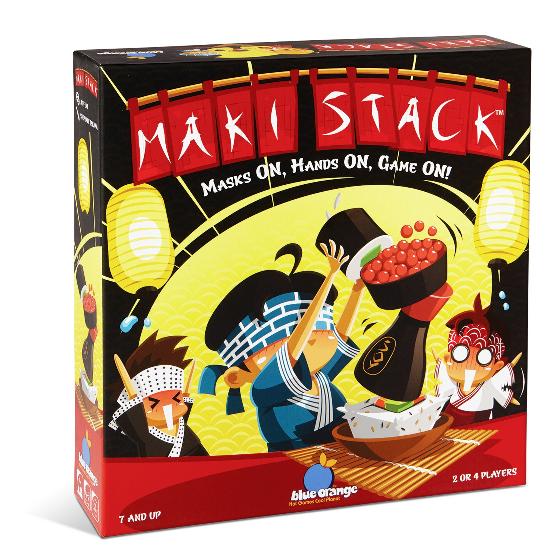 Blue Orange Maki Stack Family Party Game
