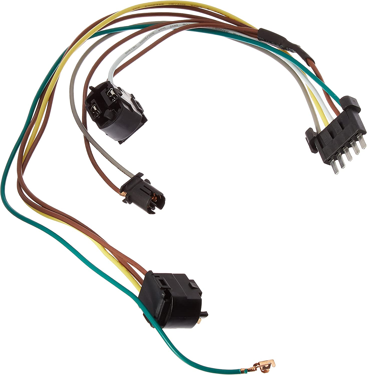 benz c32 engine wiring harness amazon com motorking dc109 02 07 mecedes left or right headlight  amazon com motorking dc109 02 07
