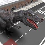 Police Chasing Dinosaurs Attacking Simulator