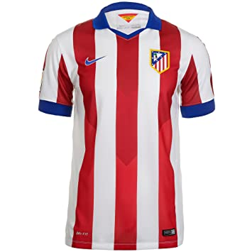3805adb43 2014-15 Atletico Madrid Home Nike Football Shirt, Jerseys - Amazon Canada