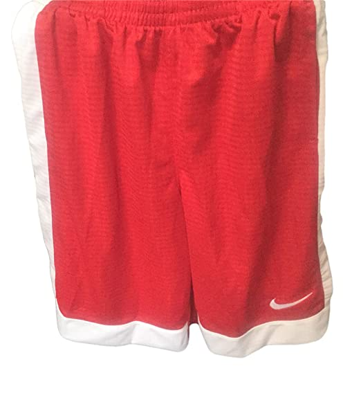 58d4332ee259f Amazon.com: NIKE Boys' Assist Shorts Red/White XL: Clothing