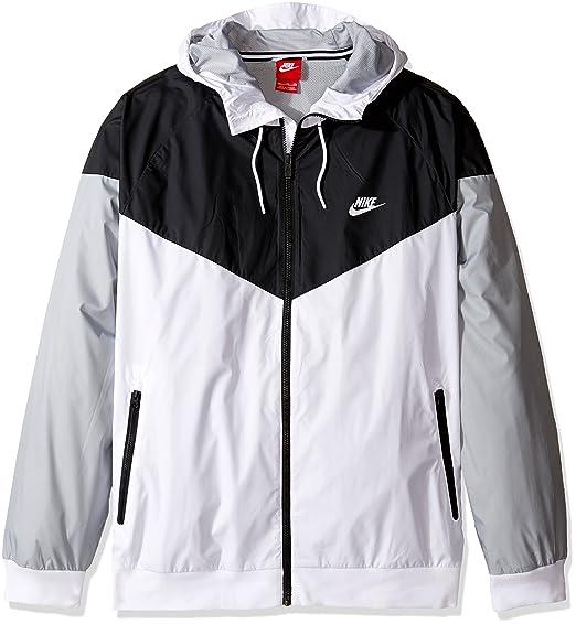 Windrunner Chaqueta De La Mujer Nike Amazon Blanco Y Negro sKcyzfejNQ