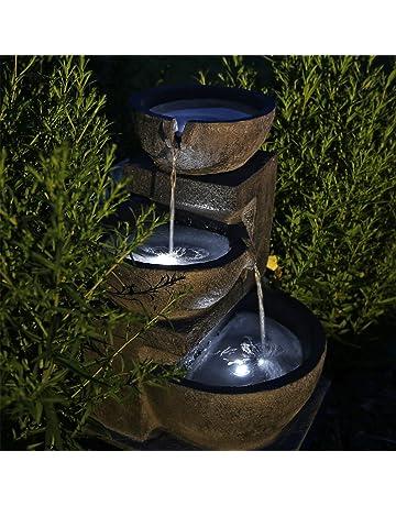 Jardin Extérieur Double Prise de courant environ Stand Prise électrique Acier Inoxydable 30 cm Terrasse étang