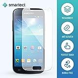 SmarTect® Samsung Galaxy S4 mini Premium Gorilla Glas Display-Schutzfolie aus gehärtetem Panzerglas - Hart-Glas - Tempered Glass - Top-Schutzglas gegen Kratzer dank Härtegrad 9H (0,33 mm)
