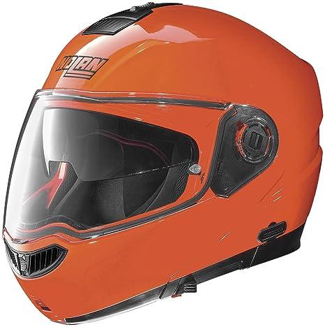 Amazon.com: Nolan N104 Evo Hi-Vis Color Naranja Fluorescente ...