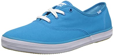51bfabbe8 Keds Womens Champion Dip Dye Lace Sneakers in Vivid Blue 4.5 (Adult ...