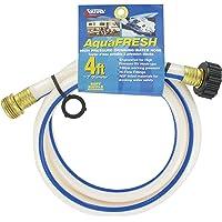 """Valterra W01-5048 AquaFresh High Pressure Drinking Water Hose - 1/2"""" x 4', White"""