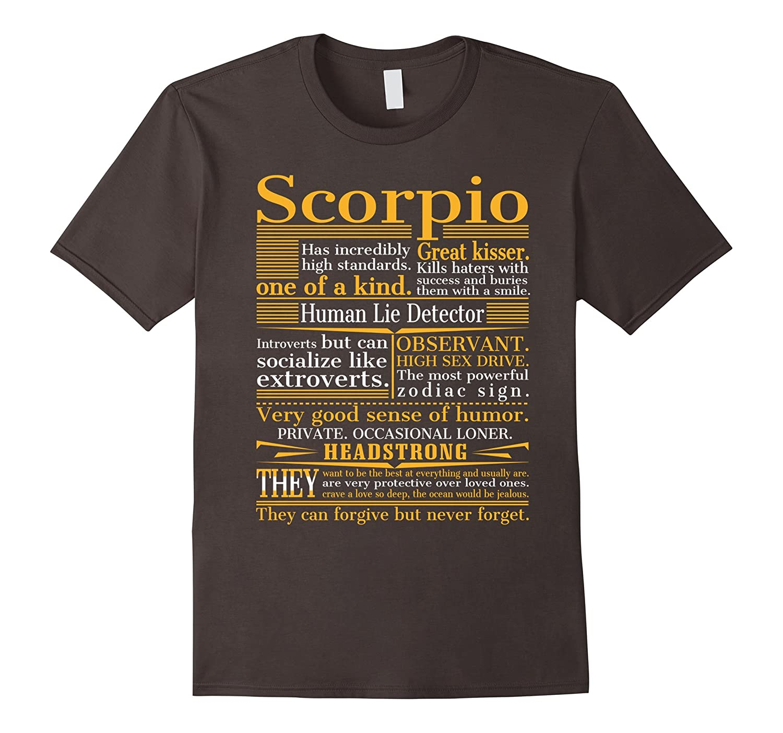 Great Scorpio T-shirt-ANZ