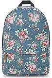 Oflamn Zaino Scuola Ragazza Zaino Viaggio Zaino Laptop - Lightweight School Bag for Girl (Blue Rose Blooms)