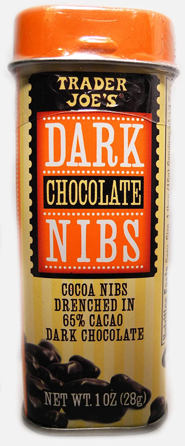 Amazon.com : Trader Joe's Dark Chocolate Nibs Cacao Nibs Drenched ...