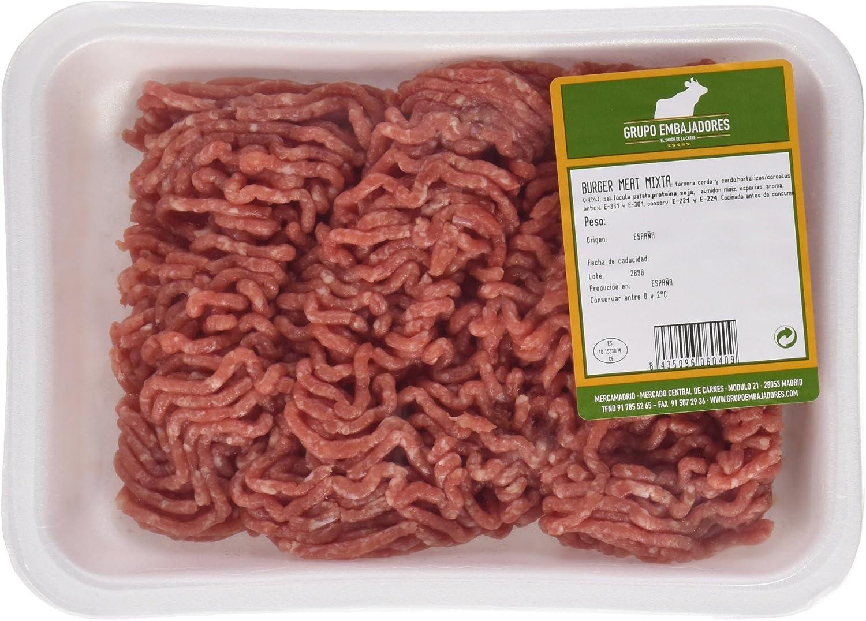Carne Picada Mixta, Ternera y Cerdo - 500 g: Amazon.es ...