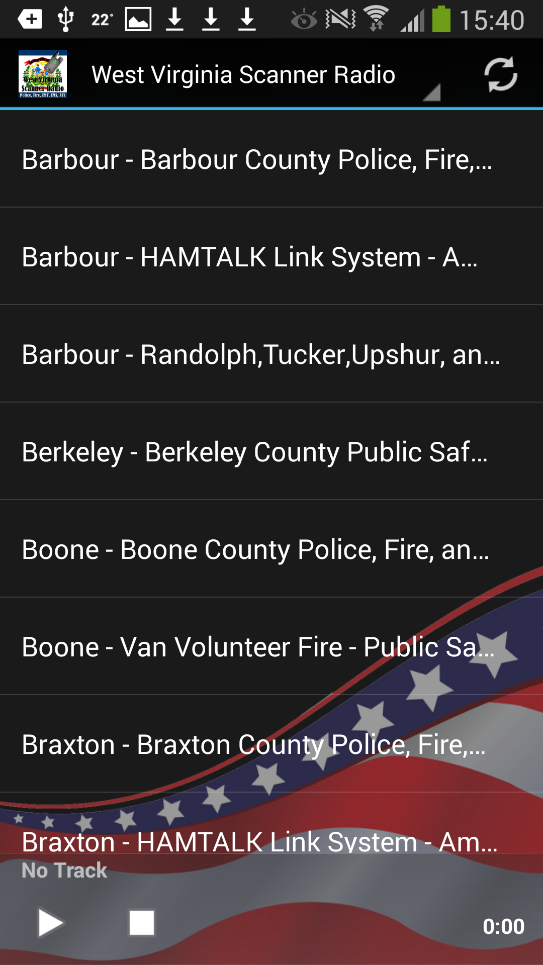 Amazon com: West Virginia Scanner Radio - Police, Fire, EMS