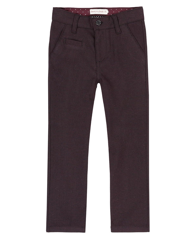 Sizes 2-12 Deux par Deux Boys Burgundy Pants Suit up