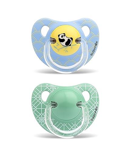 Suavinex Chupete Physio Panda 2 piezas: Amazon.es: Bebé