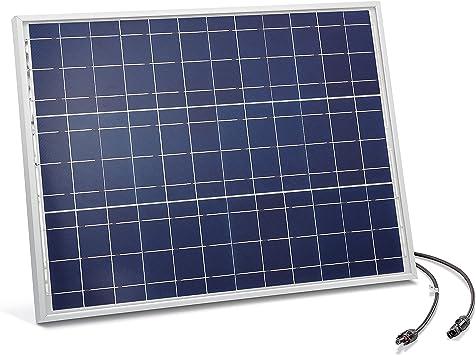 Módulo Solar 50 Vatios Cristalino 18V con MC4 Conectores ...