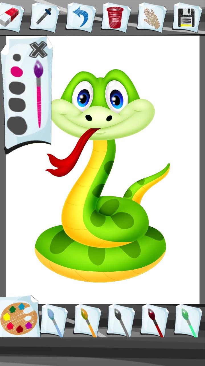 Reptiles para colorear libro: Amazon.es: Appstore para Android