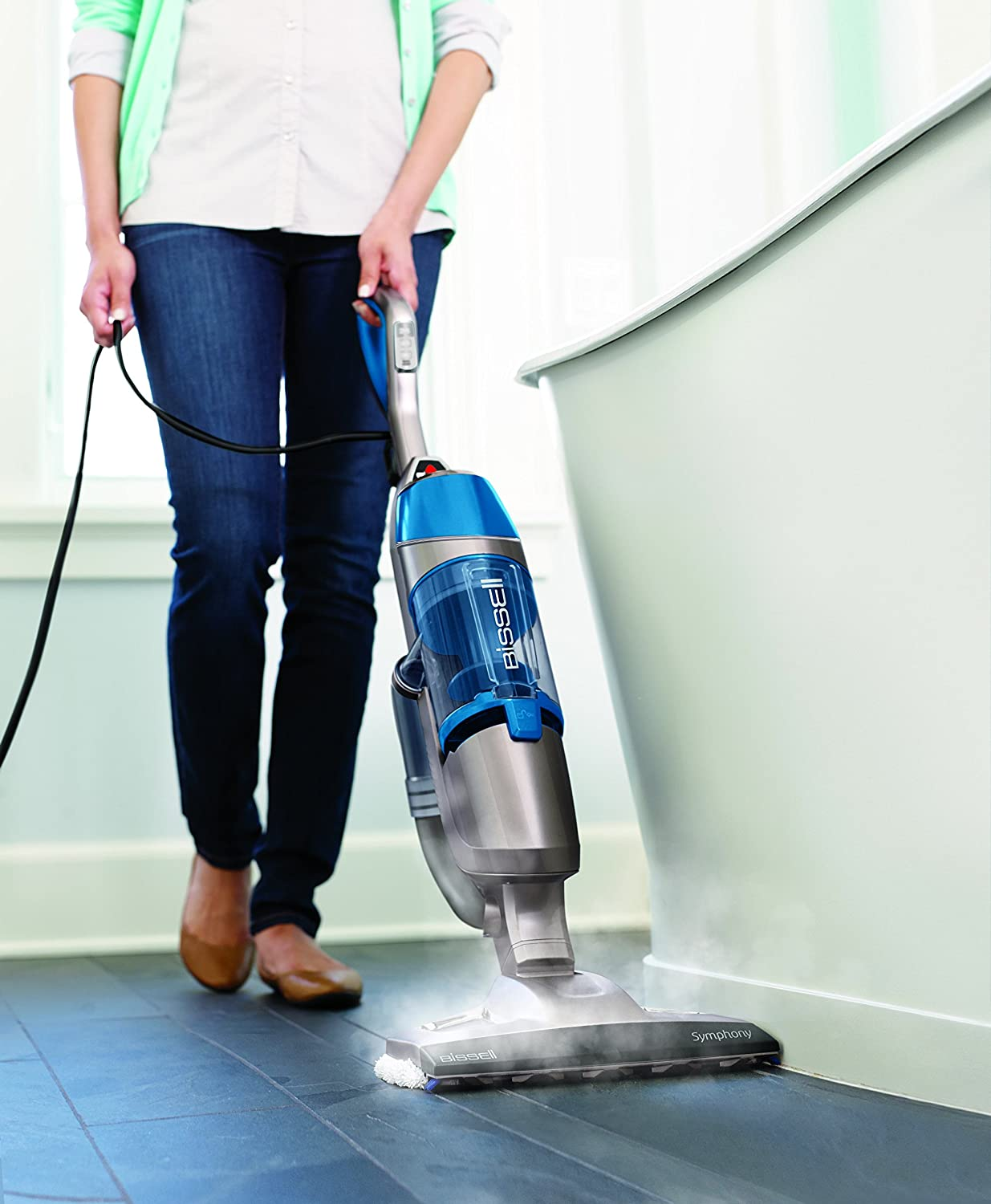 What is the best vacuum and steam mop combo kleen floor runner up bissell 1132a symphony dailygadgetfo Choice Image