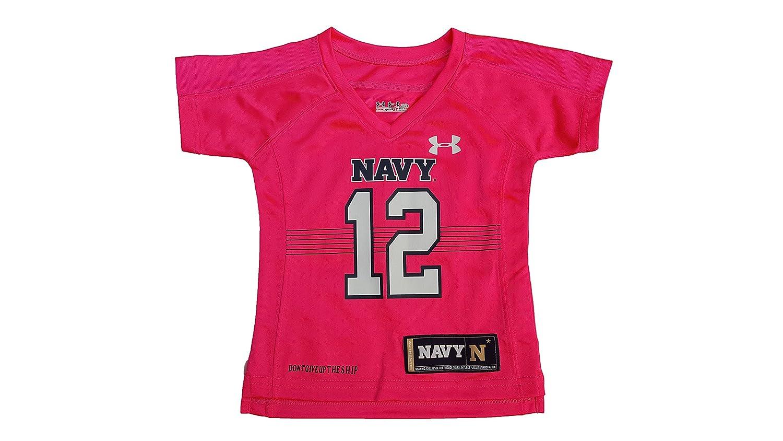 Under Armour Little Girls Infant Navy Replica Jersey