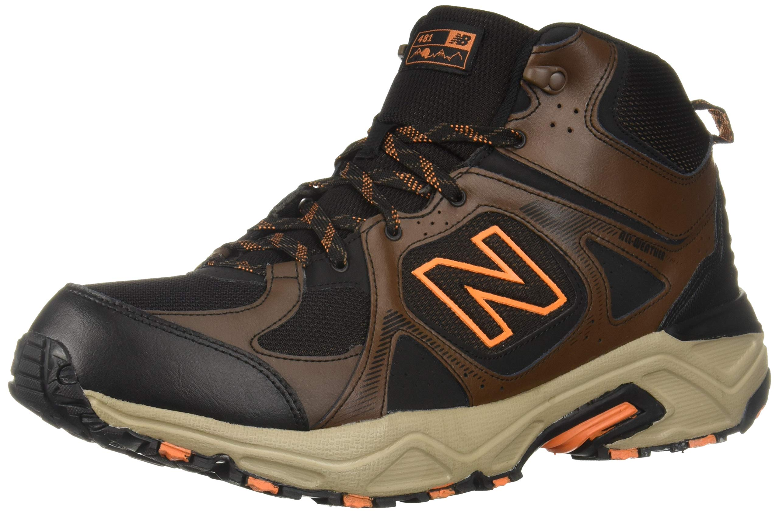 New Balance Men's 481 V3 Cushioning Trail Running Shoe Adrift/Black/Mercury 9 D US by New Balance (Image #1)