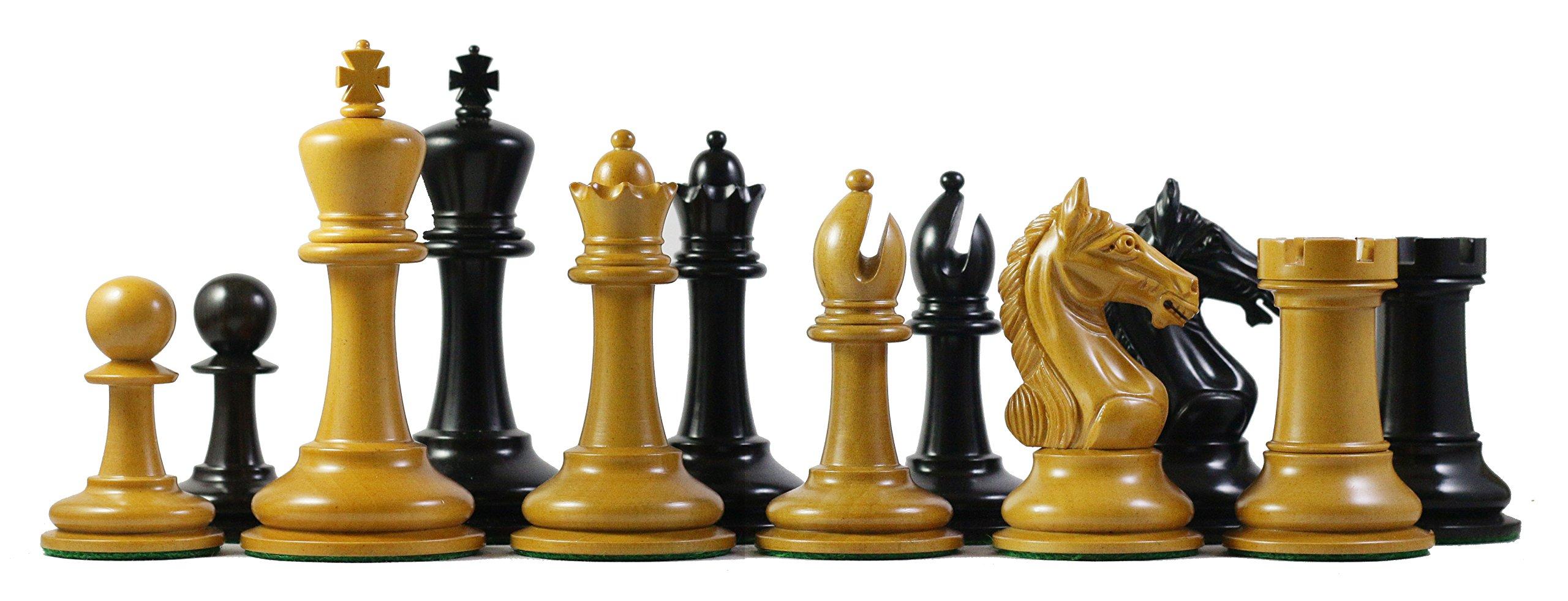Staunton Castle Antique Warrior Premium Chess Pieces 4''