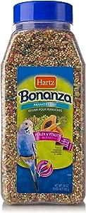 Hartz Bonanza Health & Vitality Blend Parakeet Food - 24oz