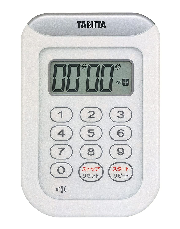 タニタ キッチンタイマー TD-378-WH