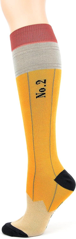 Foot Traffic, Women's Fun Knee High Socks, Fits Women's Shoe Sizes 4-10