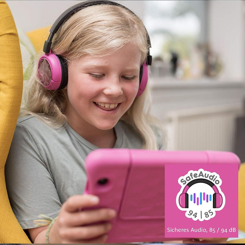 Buddyphones Pop Time Brandneu Made For Amazon Pink Altersklasse 8 15 Jahre Kindle Store