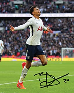 ENGLAND Signed 10x8 Mounted Photo Print FREE DELIVERY DELI ALLI #3