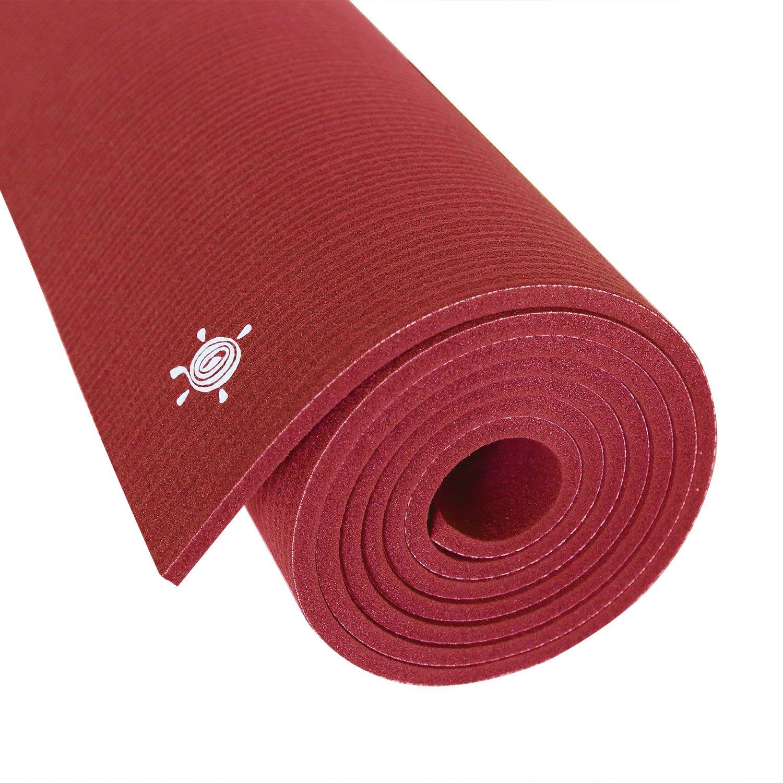 Amazon.com: Extra largo profesional alfombrilla de yoga por ...