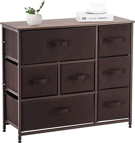 APICIZON 7 Drawer Dresser Storage Tower Unit - a good cheap bedroom dresser