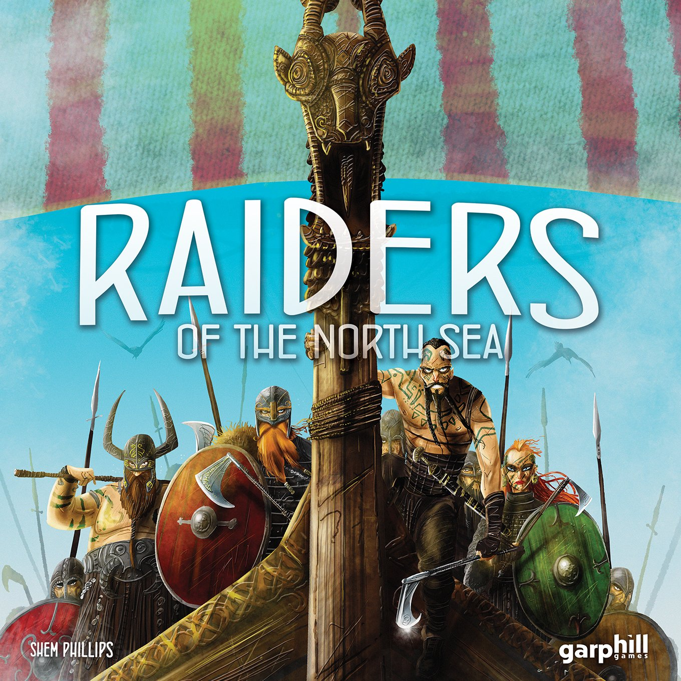Raiders of the North English Sea - English North fe3705