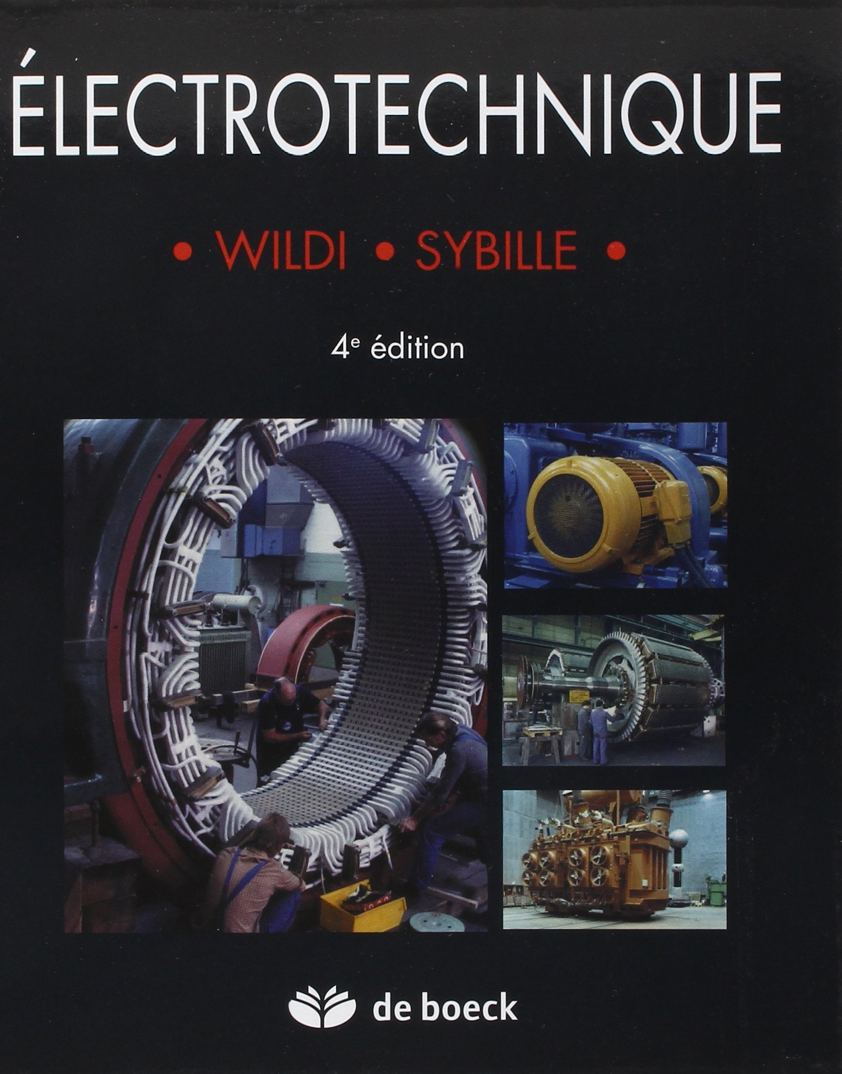 wildi electrotechnique 4eme edition pdf