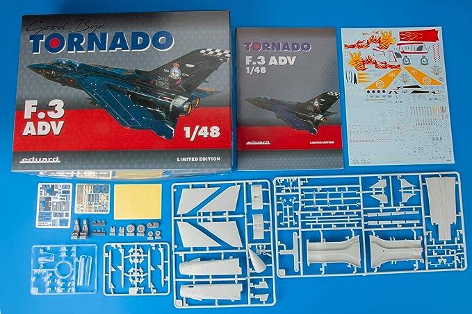 Amazon.com: Eduardo 1/48 Edición Limitada Tornado F.3 ADV ...